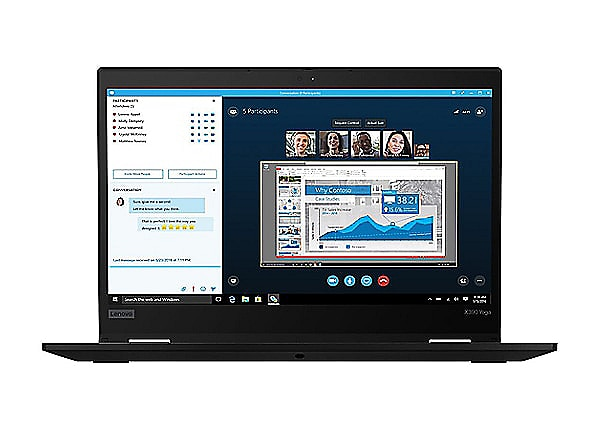 Lenovo X390 Yoga Intel i5-8365U 256GB SSD 8GB RAM Windows 10 Pro