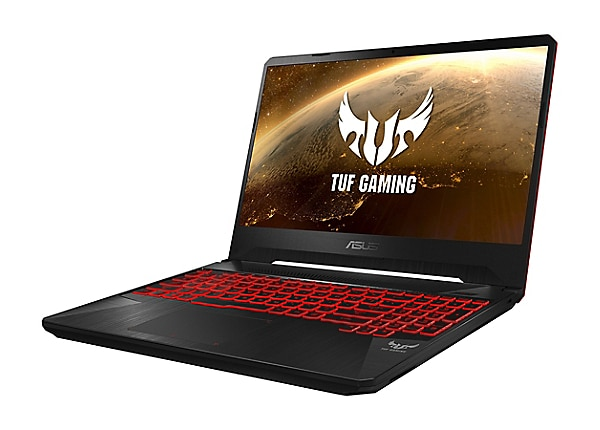 "ASUS TUF Gaming FX505GD Q72S - 15,6"" - Core i7 8750H - 16 GB RAM - 256 GB S"