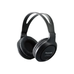 Panasonic Lightweight Long-Corded Over-The-Ear Headphones - Black