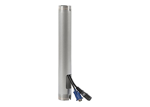 Peerless-AV Fixed Length Extension Columns EXT018-W - mounting component
