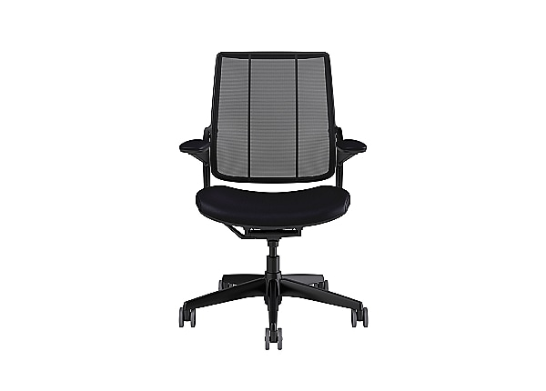Humanscale Smart Ocean Chair with Adjustable Duron Arms - Black