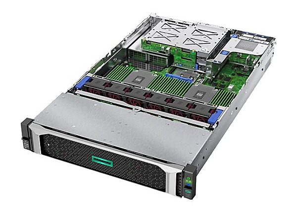 HPE ProLiant DL385 Gen10 7452 1P 16GB-R 24SFF 800W RPS Server