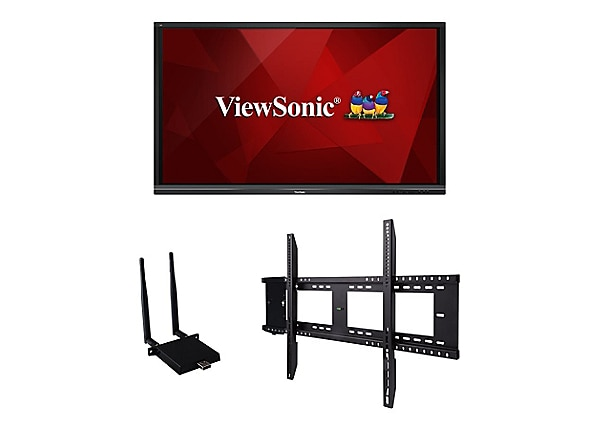 "ViewSonic ViewBoard IFP7550-E1 75"" LED-backlit LCD display - 4K"