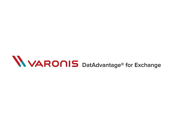 Varonis DatAdvantage for Exchange - On-Premise subscription (1 year) - 1 us