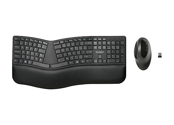 Kensington Pro Fit Ergo Wireless Keyboard and Mouse - keyboard and mouse se