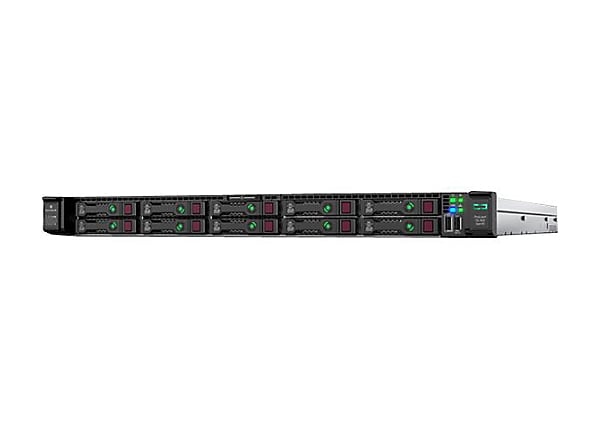 HPE ProLiant DL360 Gen10 5222 1P 32GB-R P408i-a NC 8SFF 800W PS Server