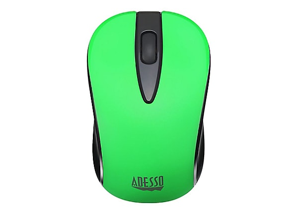 Adesso iMouse S70G Wireless Optical Neon Mouse - Green