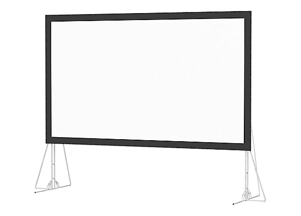 Da Lite Fast Fold Truss Hdtv Projection Screen With Legs