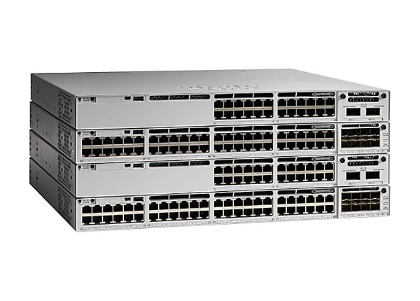 Cisco Catalyst 9300L - Network Advantage - switch - 24 ports - managed - ra