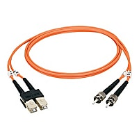 Black Box 3M Duplex Multimode Fiber 62.5/125 OM1 Patch Cable SC/ST 10ft