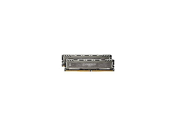Ballistix Sport LT - DDR4 - 16 GB: 2 x 8 GB - DIMM 288-pin - unbuffered