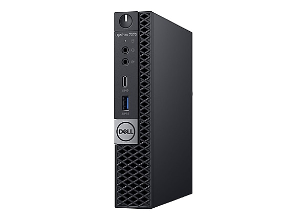 Dell OptiPlex 7070 - micro - Core i7 9700T 2 GHz - 8 GB - SSD 128 GB - Engl