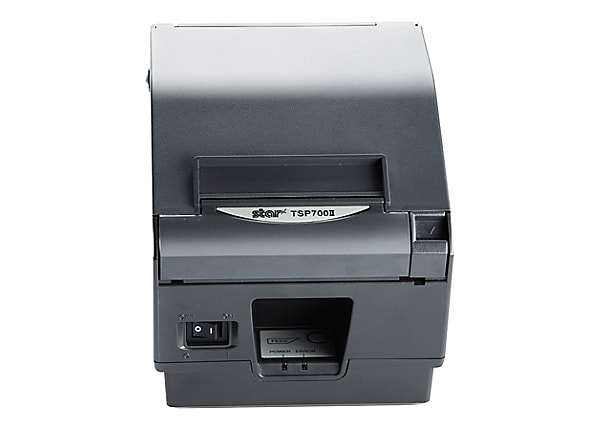 Star TSP TSP743IICLOUDPRNT-24L GRY - receipt printer - two-color (monochrom