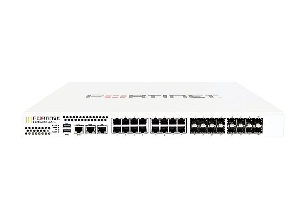 Fortinet FortiGate 300E - security appliance - with 5 years 360 Protection
