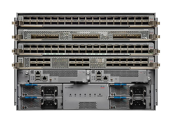 Cisco Network Convergence System 5504 - rack-mountable - up to 4 blades