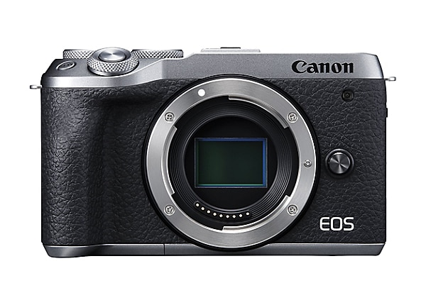 Canon EOS M6 Mark II Mirrorless Digital Camera (Body Only) - Silver