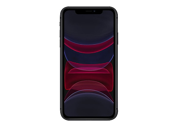 Apple iPhone 11 - black - 4G - 256 GB - CDMA / GSM - smartphone