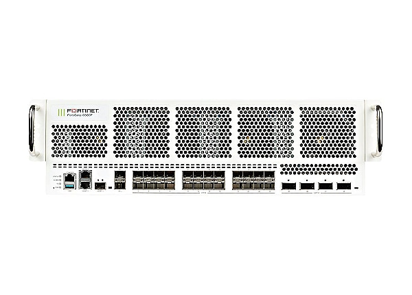 Fortinet FortiGate 6501F - UTM Bundle - security appliance - with 5 years F