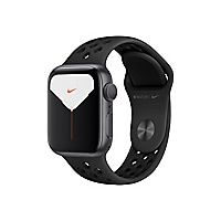 Apple Watch Nike Series 5 (GPS) - space gray aluminum - smart watch with Ni