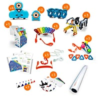 Teq Wonder Workshop K-5 Classroom Pack with PD