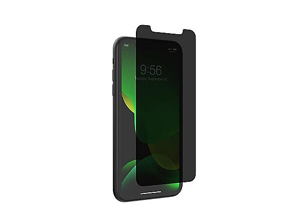 ZAGG InvisibleShield Glass Elite Privacy Screen Protector for iPhone 11