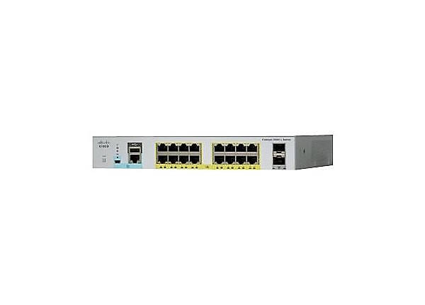 Cisco Catalyst 2960L-SM-16PS - switch - 16 ports - smart - plug-in module