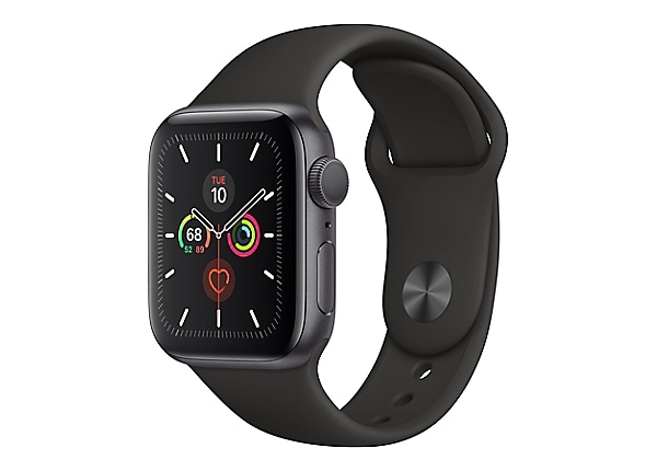 Apple Watch Series 5 (GPS) - space gray aluminum - smart watch with sport b