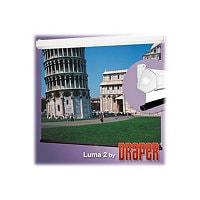 "Draper Luma 2 with AutoReturn - projection screen - 120"" (305 cm)"