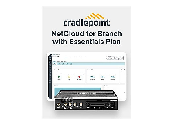 Cradlepoint NetCloud Essentials for Branch LTE Advanced Pro Adapters - subs
