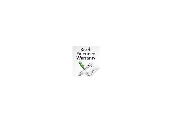 Ricoh On-site Service - extended service agreement - 2 years - additional -