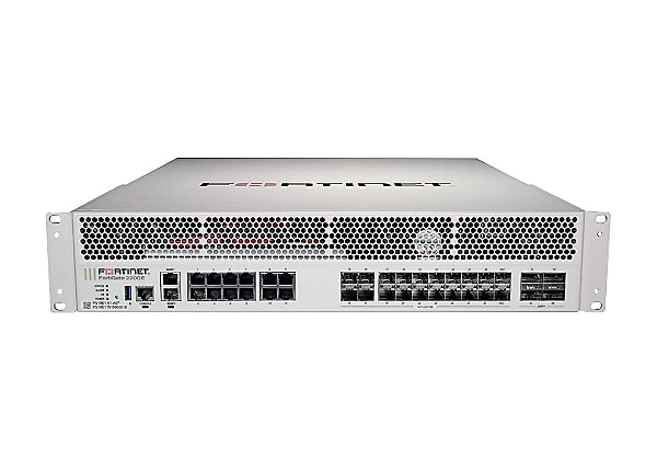 Fortinet FortiGate 2200E - security appliance - with 5 years FortiCare 24X7