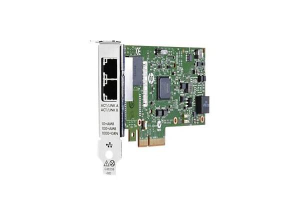 HPE CTO  ETHERNET 1GB 2P 361T ADPTR