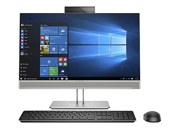 HP EliteOne 800 G5 - all-in-one - Core i5 9500 3 GHz - 8 GB - SSD 256 GB -