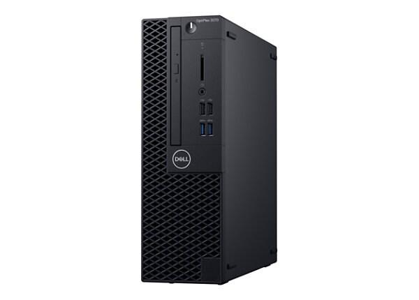 Dell OptiPlex 3070 - SFF - Core i3 9100 3.6 GHz - 4 GB - HDD 500 GB - Engli