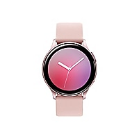 Samsung Galaxy Watch Active 2 - pink gold aluminum - smart watch with band