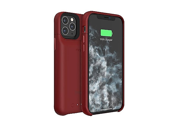 mophie Juice Pack Access Protective Case for iPhone 11 Pro - Red