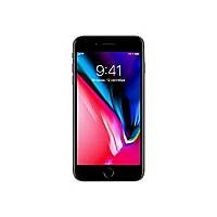 Apple iPhone 8 Plus - space gray - 4G - 128 GB - GSM - smartphone