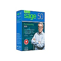Sage 50 Pro Accounting 2020 - box pack - 1 user