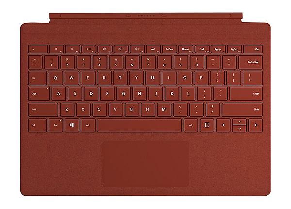Microsoft Surface Pro Signature Type Cover - keyboard - with trackpad - QWE