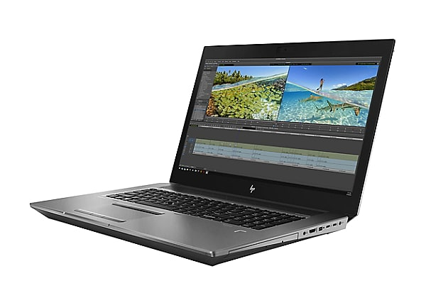 "HP ZBook 17 G6 Mobile Workstation - 17.3"" - Core i7 9850H - vPro - 32 GB RA"