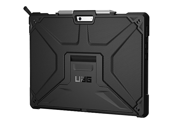 UAG Rugged Case for Microsoft Surface Pro X - Metropolis Black - back cover