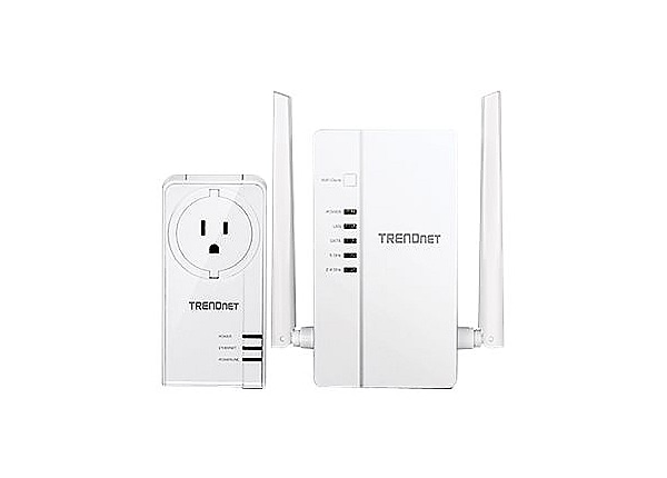 TRENDnet WiFi Everywhere Powerline 1200 AV2 Kit TPL-430APK - bridge - 802.1