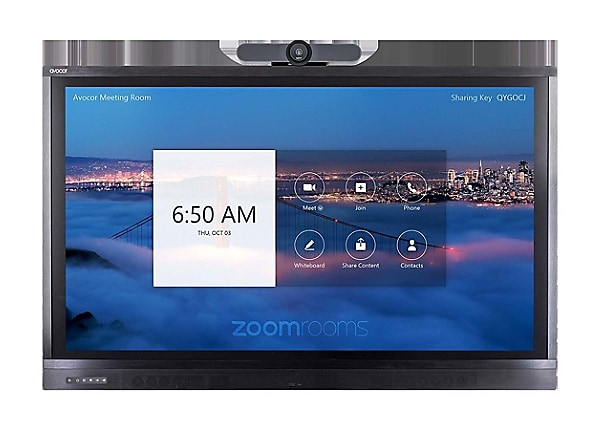 "Avocor ALZ-8650 86"" Premium Display for Zoom Room Touch with MeetUp"