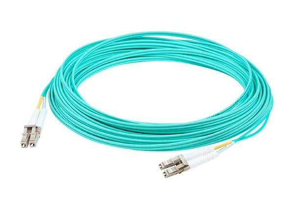 AddOn 40m LC OM3 Aqua Patch Cable - patch cable - 40 m - aqua