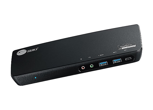 SIIG USB-C Triple 4K Video Docking Station with Power Delivery - docking st
