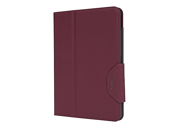 Targus VersaVu Classic Case for 11-in. iPad Pro, Burgundy - flip cover for
