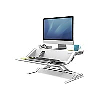 Fellowes Lotus Sit-Stand Workstation - stand (Waterfall)