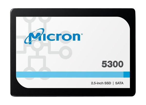 Micron 5300 PRO - solid state drive - 7.68 TB - SATA 6Gb/s