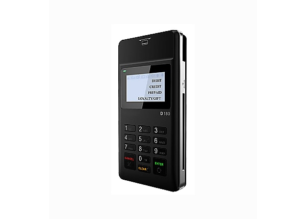 PAX D180 MPOS Terminal with Bluetooth,WiFi Connectivity