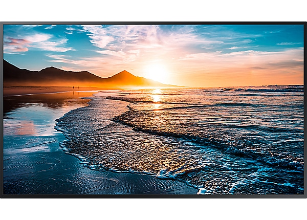 "Samsung QH75R QHR Series - 75"" LED display"
